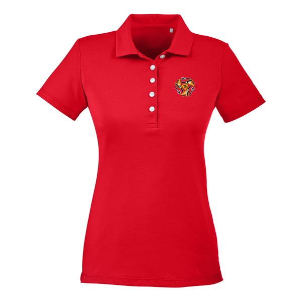 Always on the Road Flying V Puma Polo (Women) - Red