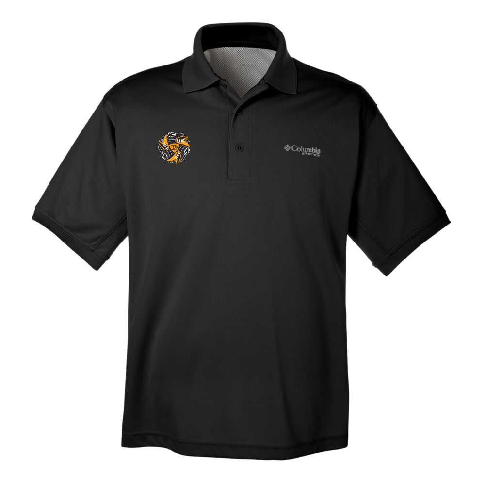 Always on the Road Flying V Columbia Polo (Men) - Black