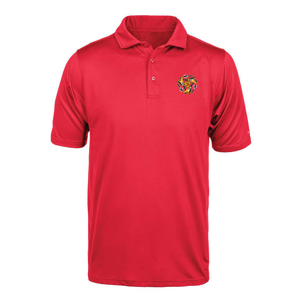 Always on the Road Flying V Reebok Cypress Polo (Men) - Red