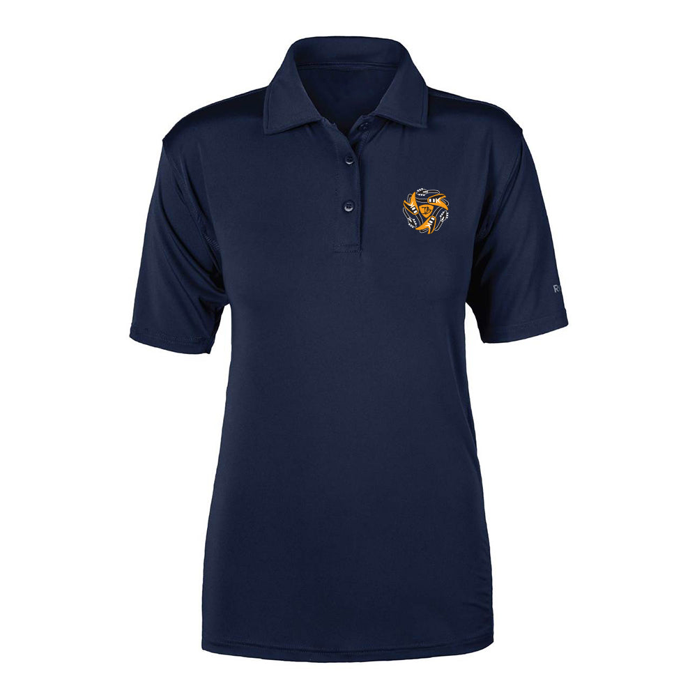 Always on the Road Flying V Reebok Cypress Polo (Women) - Navy