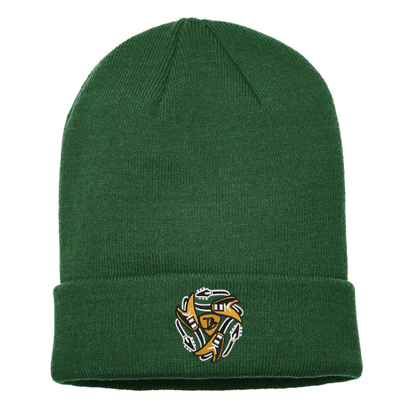 Always on the Road Flying V Nike Sideline Beanie - Green