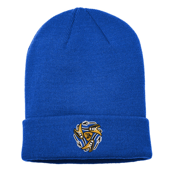 Always on the Road Flying V Nike Sideline Beanie - Royal