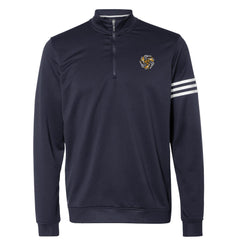 Always on the Road Flying V Adidas French Terry 1/4 Zip Pullover (Men) - Navy