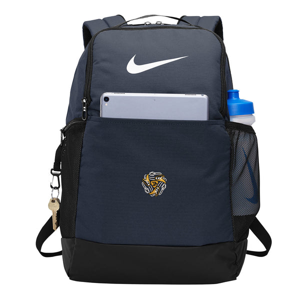 Always on the Road Flying V Nike Brasilia Backpack - Navy