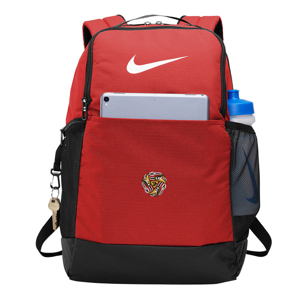 Always on the Road Flying V Nike Brasilia Backpack - Red