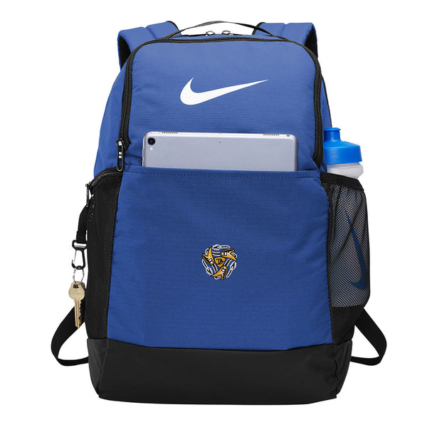 Always on the Road Flying V Nike Brasilia Backpack - Royal