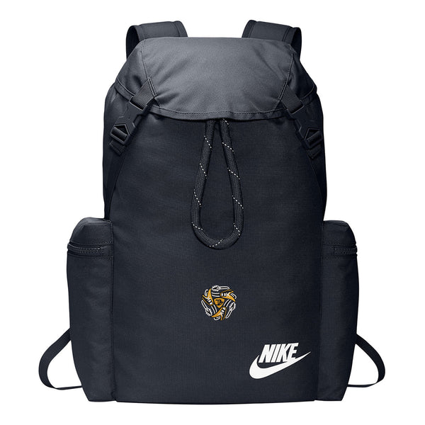 Always on the Road Flying V Nike Heritage Rucksack - Obsid