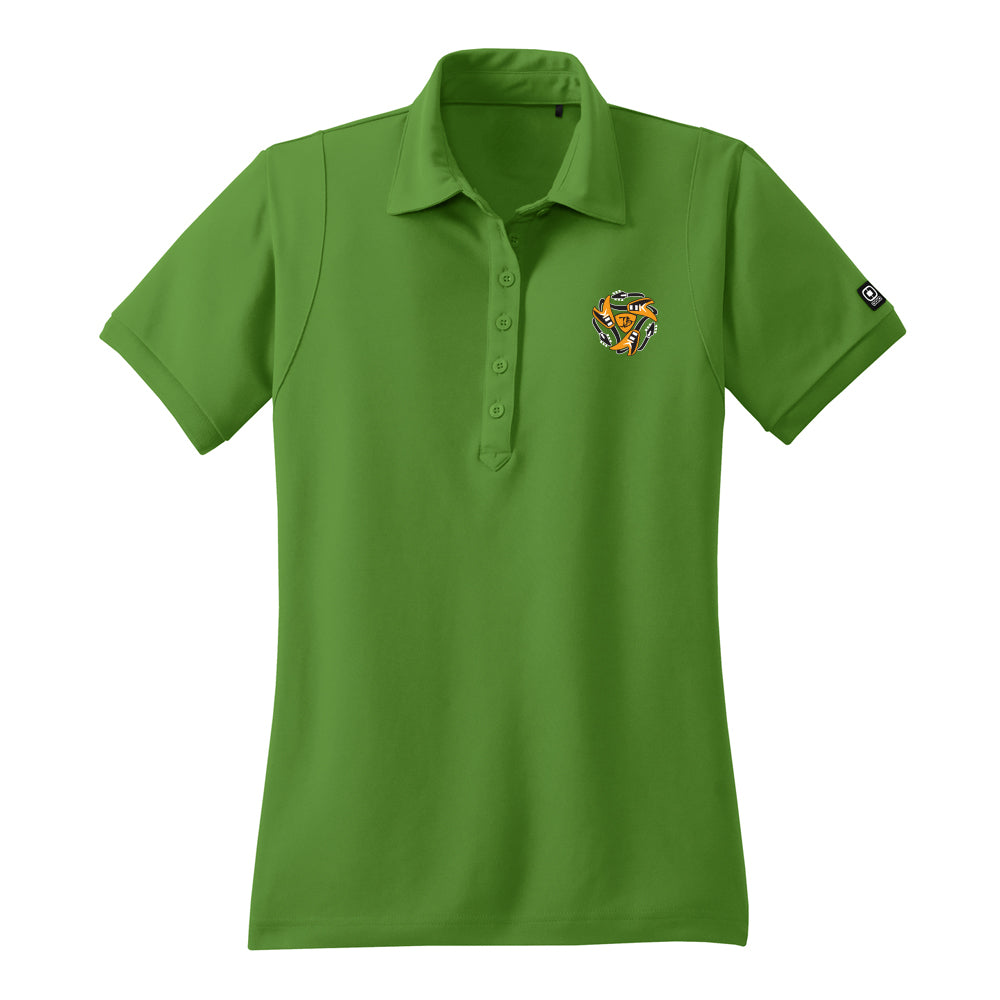 Always on the Road Flying V Ogio Polo (Women) - Green