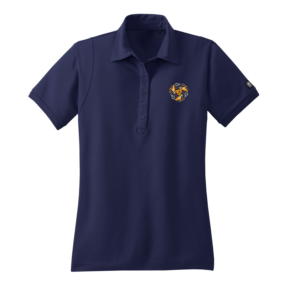 Always on the Road Flying V Ogio Polo (Women) - Navy