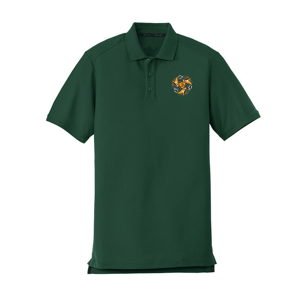 Always on the Road Flying V New Era Polo (Men) - Green