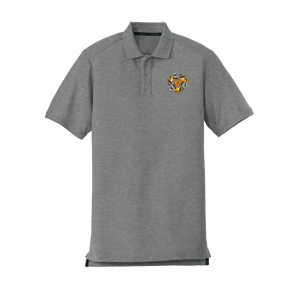 Always on the Road Flying V New Era Polo (Men) - Graphite