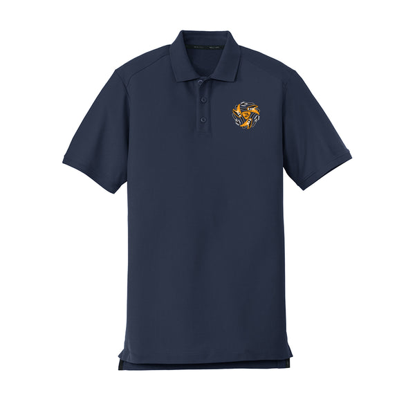 Always on the Road Flying V New Era Polo (Men) - Navy