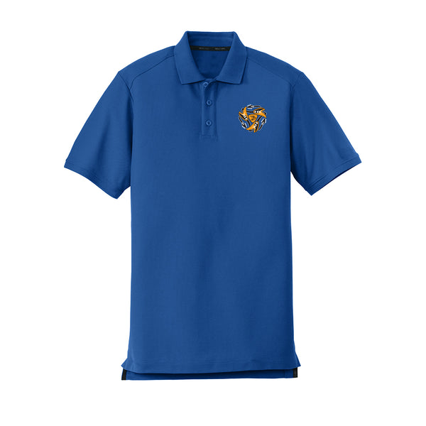 Always on the Road Flying V New Era Polo (Men) - Royal