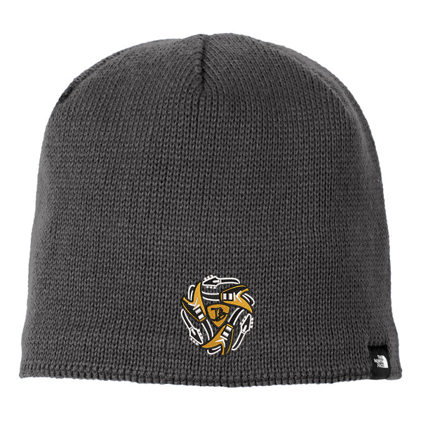 Always on the Road Flying V The North Face Mountain Beanie - Asphalt