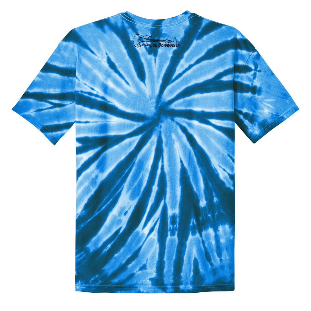 L.O.V.E Guitars Tie Dye T-Shirt (Unisex) - Royal