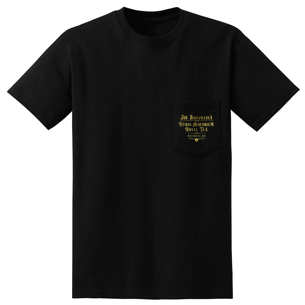 Royal Tea Guitar Pocket T-Shirt (Unisex)