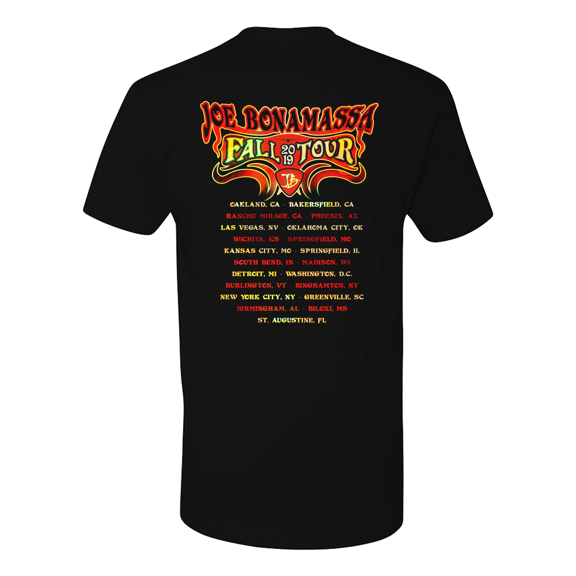 2019 Fall Tour T-Shirt (Unisex) - Psychedelic