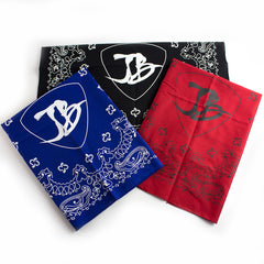Headstock Bandana - Black/White