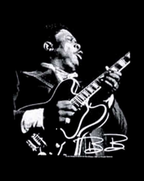 B.B. King - Guitar T-Shirt (Unisex)