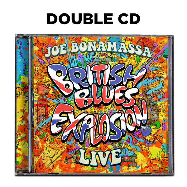 Joe Bonamassa: British Blues Explosion Live (CD) (Released: 2018) ***PRE-ORDER***