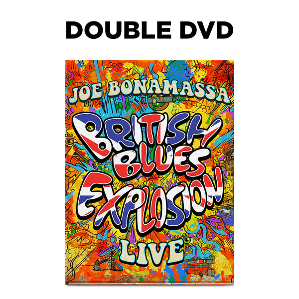 Joe Bonamassa: British Blues Explosion Live (DVD) (Released: 2018) ***PRE-ORDER***