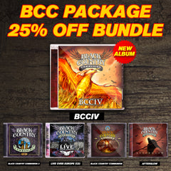Black Country Communion Full Catalog Collection Package (5 - CD Set)