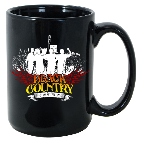 Black Country Communion Live Over Europe Mug