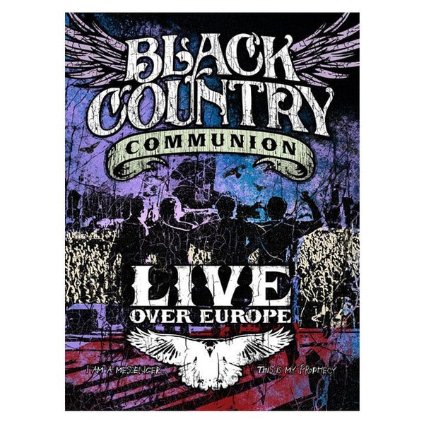 Black Country Communion: Live Over Europe (DVD) (Released: 2012)