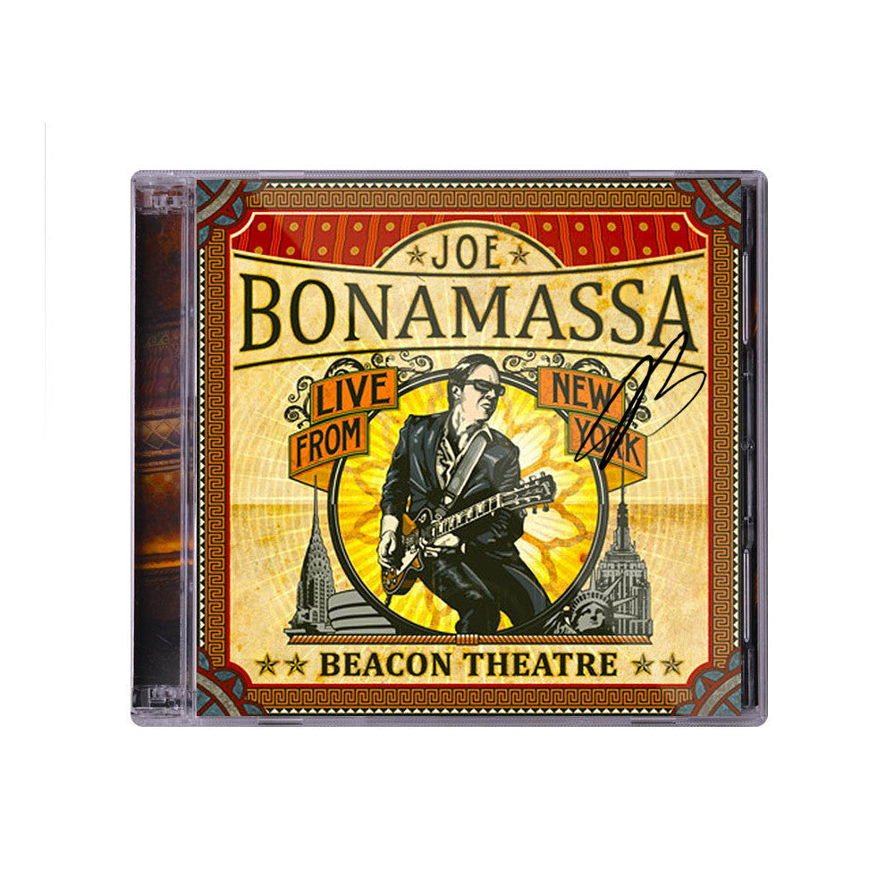 Joe Bonamassa: Beacon Theatre-Live From New York (Double CD) (Released: 2012) - Hand-Signed