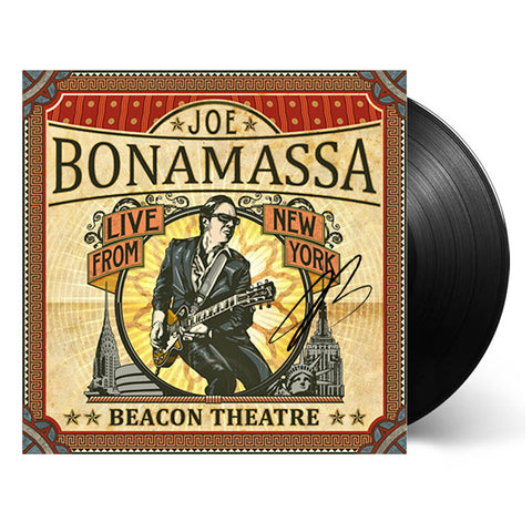 Joe Bonamassa: Beacon Theatre Live From New York (Vinyl) (Released: 2012) - Hand-Signed