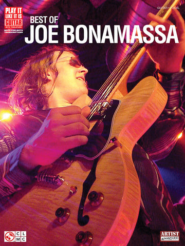 Best of Joe Bonamassa Tab Book (Released: 2007)