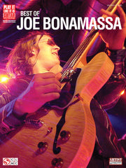 Best of Joe Bonamassa Tab Book