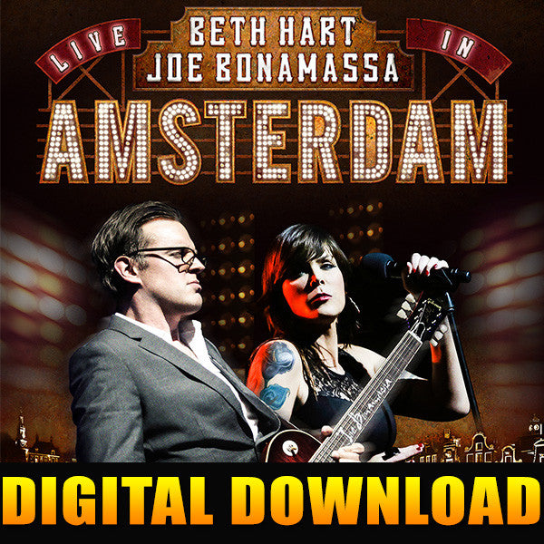 Beth Hart & Joe Bonamassa - Live In Amsterdam FULL ALBUM DIGITAL DOWNLOAD