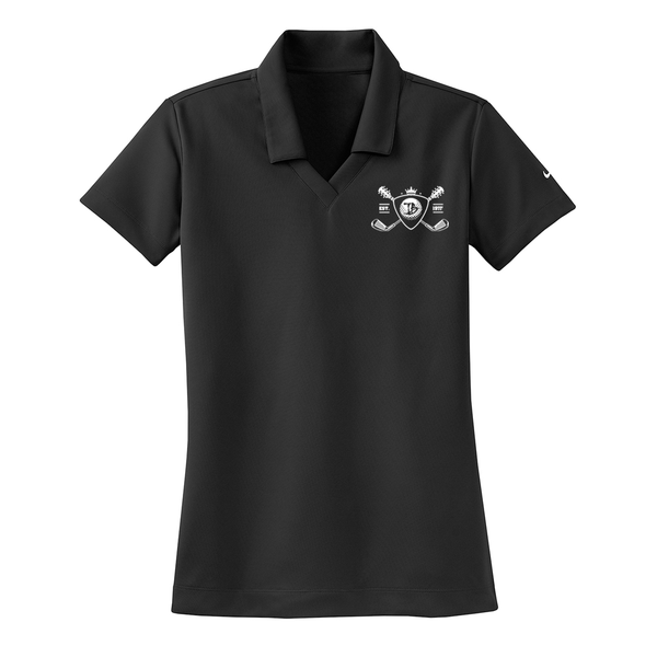 Blues Bogey Nike Dri-FIT Micro Pique Polo (Women) - Black