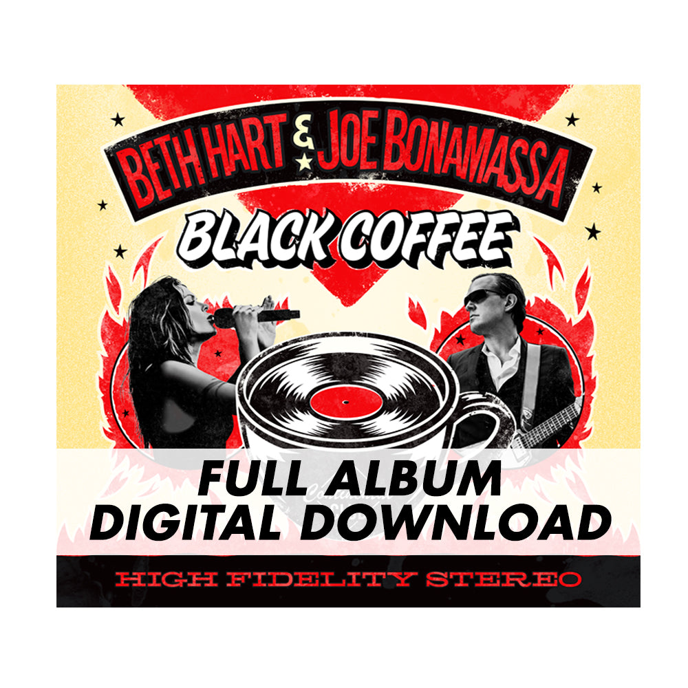 390d3179f9db Beth Hart & Joe Bonamassa: Black Coffee (Digital Album) – Joe Bonamassa  Official Store