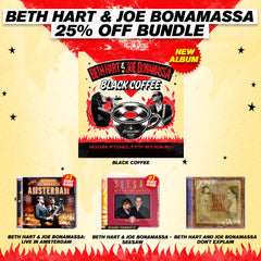 Beth Hart & Joe Bonamassa Full Catalog Collection Package (4 - CD Set)
