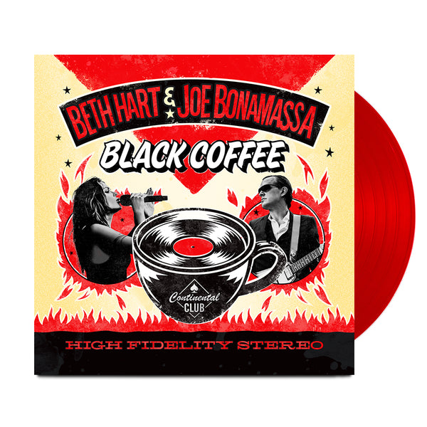 Beth Hart & Joe Bonamassa: Black Coffee (Double LP Vinyl Set) (Released 2018)