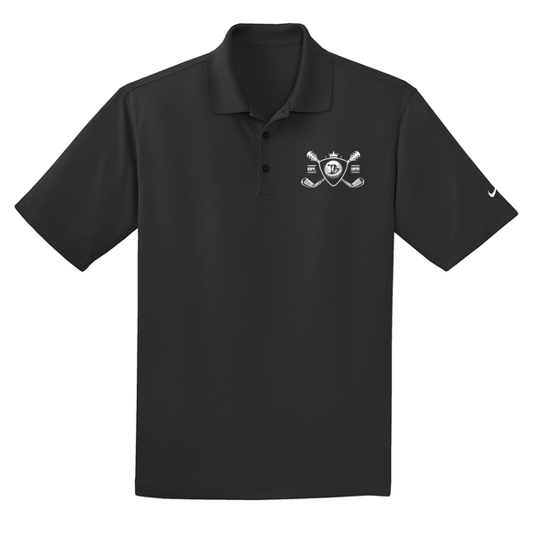 Blues Bogey Nike Dri-FIT Micro Pique Polo (Men) - Black