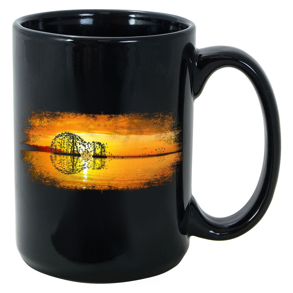 Tribut - Yellow Acoustic Sunset Mug