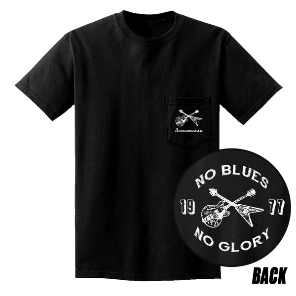 No Blues, No Glory Pocket T-Shirt (Unisex) - Black