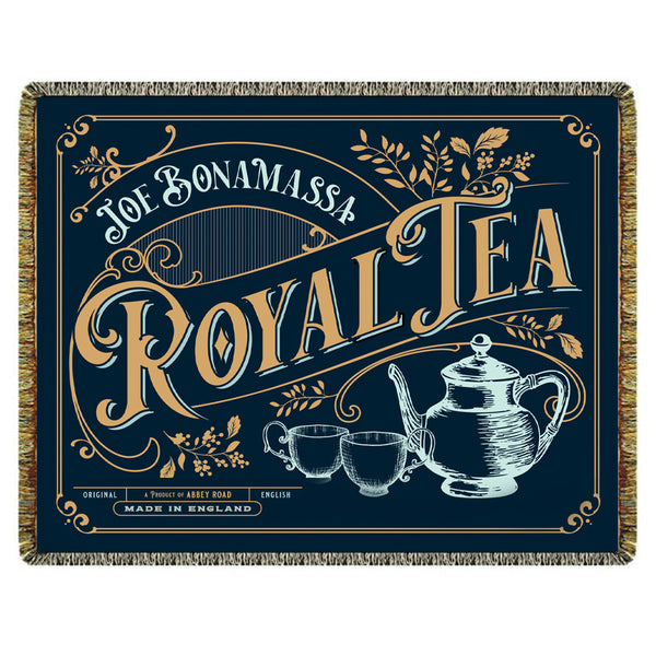 Royal Tea Album Cover Blanket