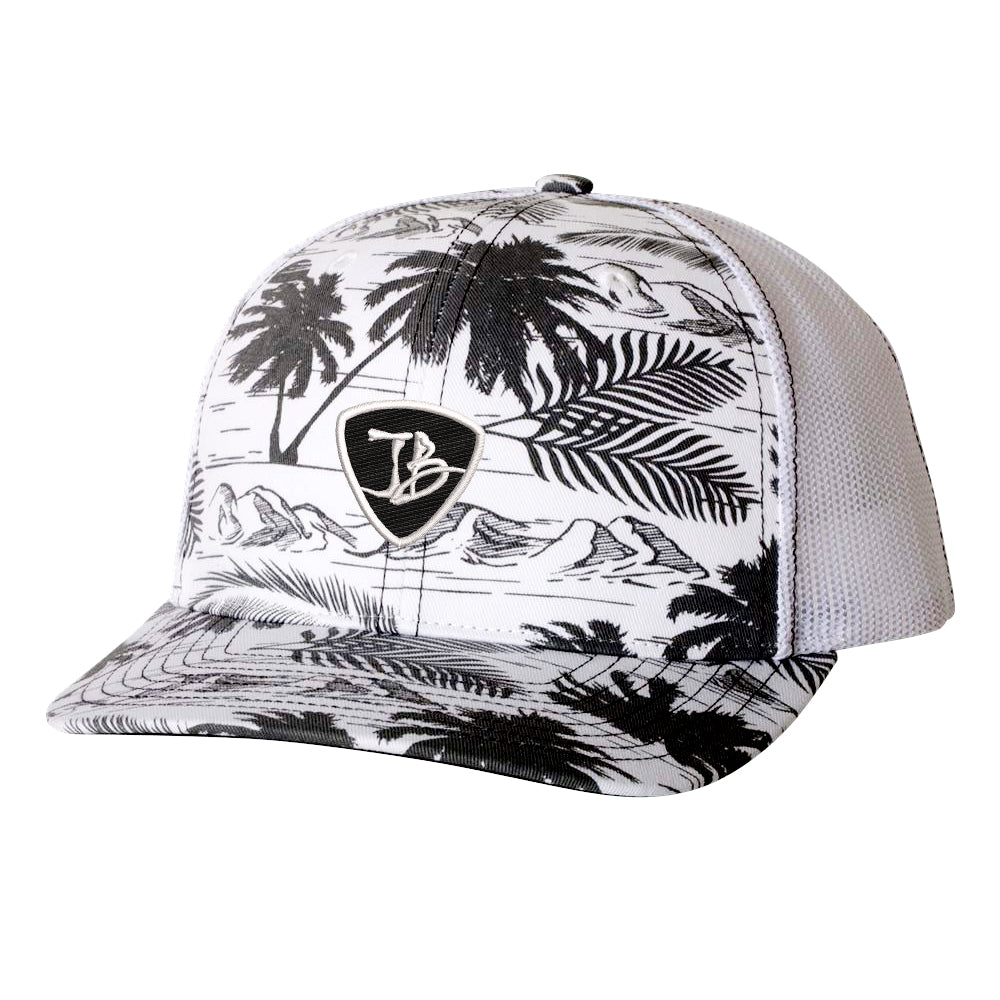 JB Pick Trucker Hat - Island/Black
