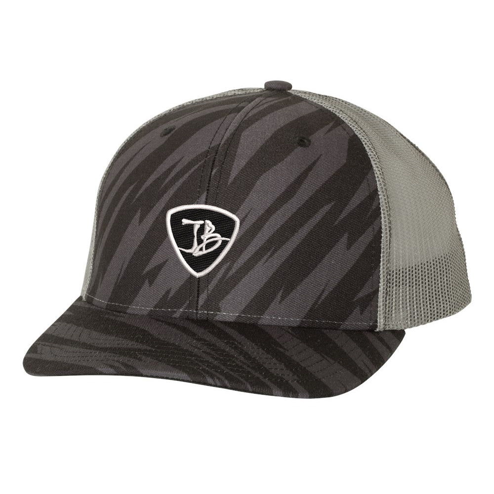 JB Pick Trucker Hat - Streak/Black
