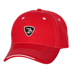 JB Pick Tri-Color Hat - Red