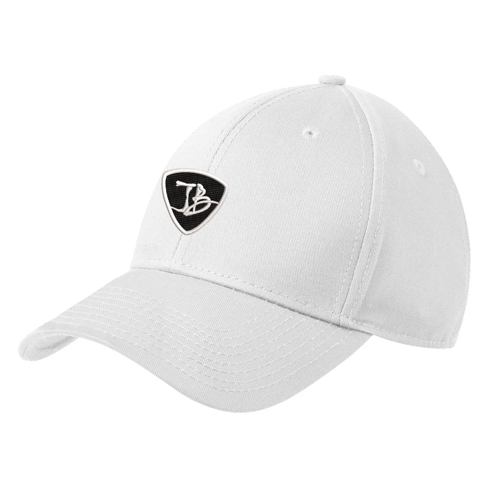 JB Pick New Era Hat - White