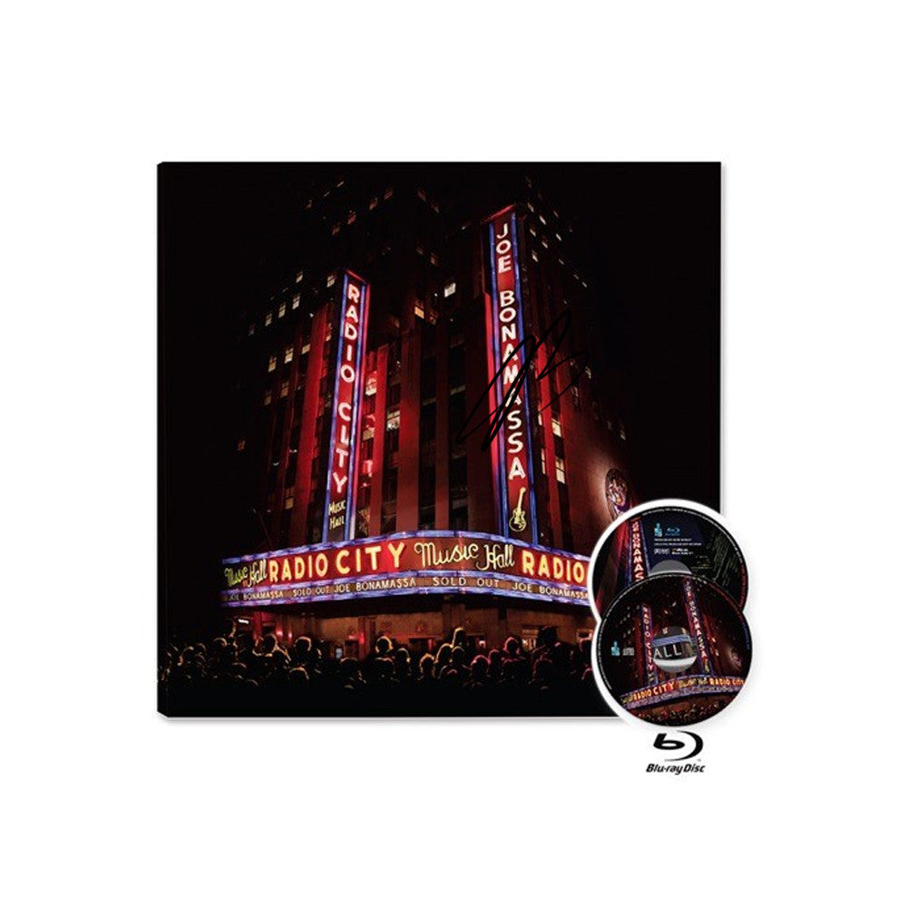 Live at Radio City Music Hall (CD/Blu-ray) (Released: 2015) - Hand-Signed