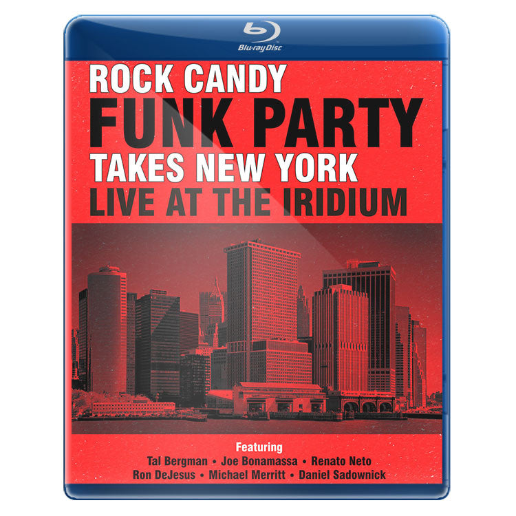 Rock Candy Funk Party Takes New York - Live At The Iridium (Blu-ray/CD)