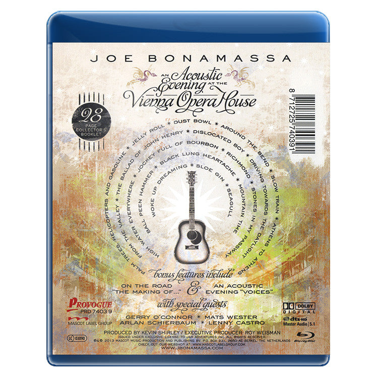 An Acoustic Evening At The Vienna Opera House (Blu-ray)