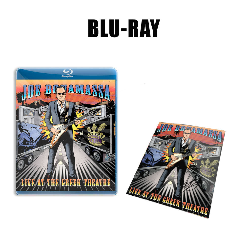 Joe Bonamassa: Live at the Greek Theatre (Blu-ray) (Released: 2016) - Hand-Signed