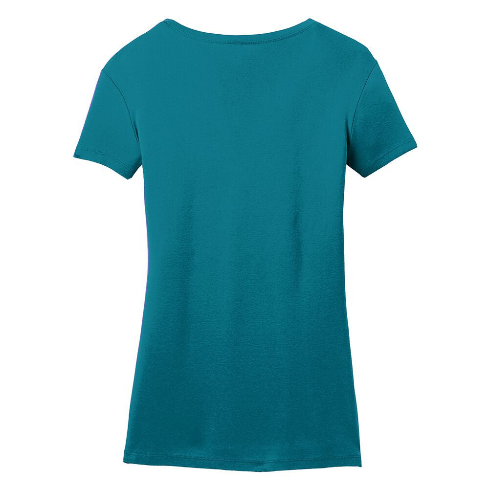Blues Rock V-Neck (Women) - Teal